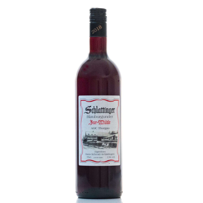 Pinot Noir 7.5 dl 2018 Schmid Hof Wein Schlattingen