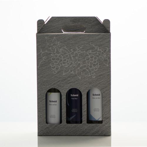 Geschenkpack Schmid Wein